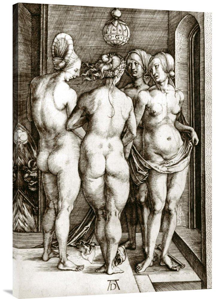 Global Galerie Galerie Galerie Budget gcs-264857–91,4–360,7 cm Albrecht Dürer der Hexen Gallery Wrap Giclée-Kunstdruck auf Leinwand Art Wand B01K1OZS42 | Züchtungen Eingeführt Werden Eine Nach Der Anderen  2c1abb