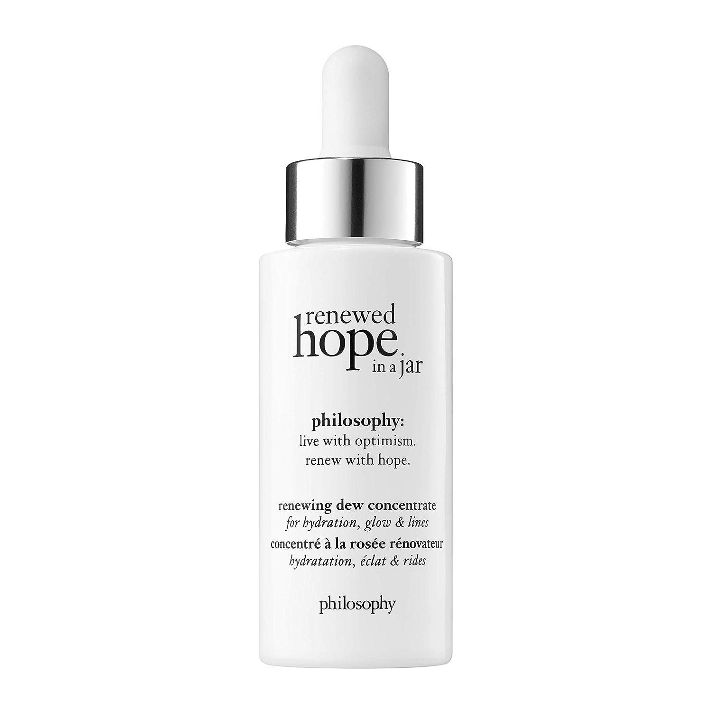philosophy renewed hope in a jar - renewing dew concentrate serum, 1 oz