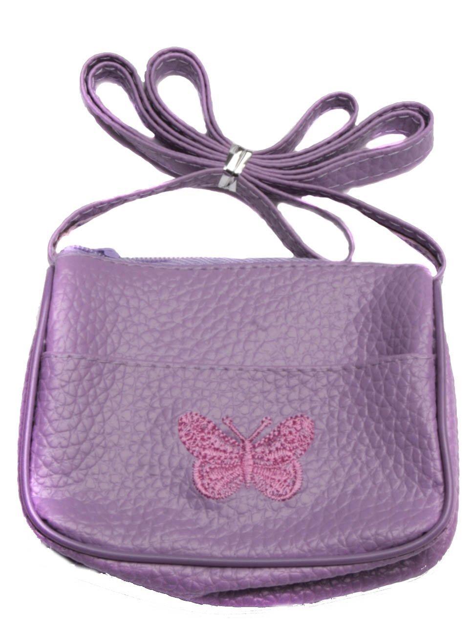 Kinder Handtasche mit eingestickten Butterfly Mias Accessories 8991