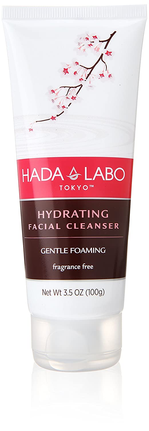Hada Labo Tokyo Gentle Hydrating Cleanser 5 Oz - with Hyaluronic Acid, cream facial wash, non-drying, free from fragrance, parabens, alcohol, mineral oil and dyes The Mentholatum Co Inc. 1835