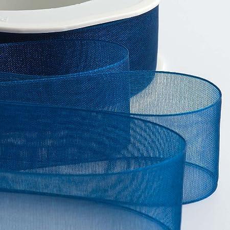 Organza Woven Edge Ribbon 15mmx20m Lilac by DIY Wedding Favours