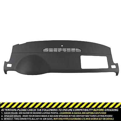 Dashskin Molded Dash Cover Compatible With 07-14 GM Suvs W/O Dash Speaker In Ebony