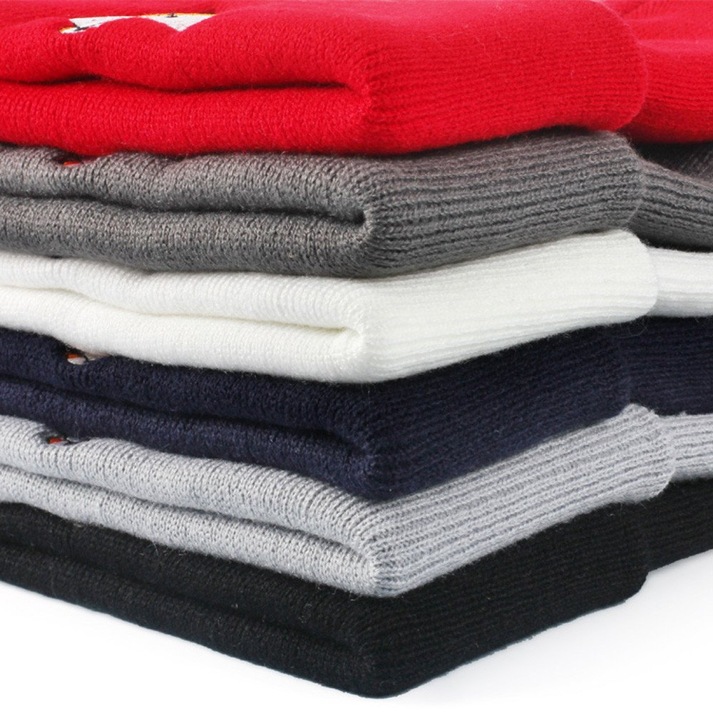 Dream Room Unisex Embroidery Pattern Beanie Hat Warm Knitted Cap Soft Ski Bike Sports Cap