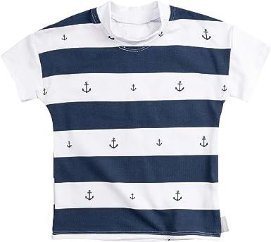 Lilakind - Camiseta de Manga Corta para bebé, algodón, diseño de ...
