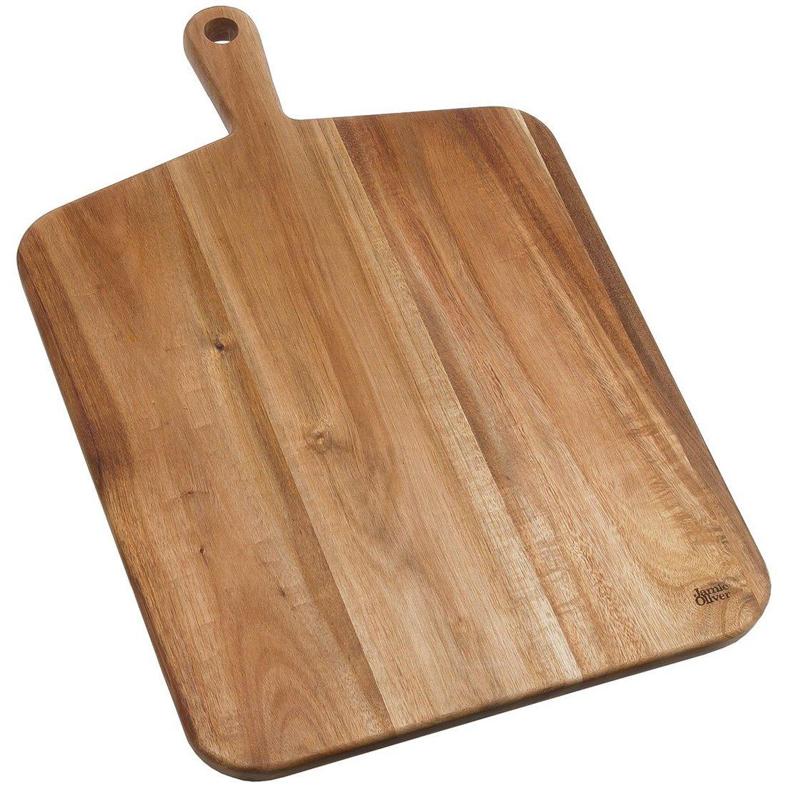 Jamie Oliver acacia wood rustic board