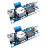HiLetgo® 2個セット XL6009 4A DC-DC調整可能ブースターモジュール 可変ステップアップパワーコンバータモジュール昇圧レギュレータ 電源モジュール [並行輸入品]