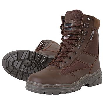 Kombat UK Herren Halb Leder/Halb Cordura Patrol Boots, Größe 8, Schwarz