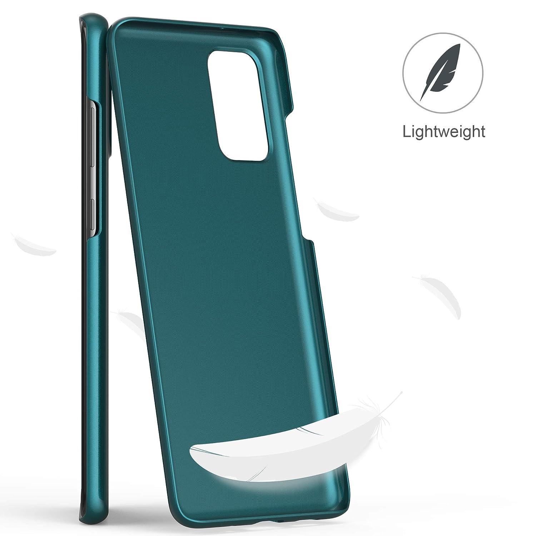 anccer Funda Samsung Galaxy S20 Plus 6.7 Ultra Slim Anti-Rasgu/ño y Resistente Huellas Dactilares Totalmente Protectora Caso de Duro Cover Case para Samsung S20 Oro Rosa Liso
