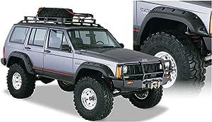 Bushwacker 10911-07 Jeep Cut-Out Fender Flare - Set of 4