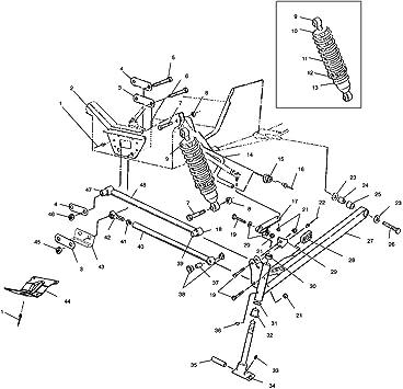 Polaris 5432038 Front Suspension Sway Bar Bushing 1997-2002 RMK SKS 5432885