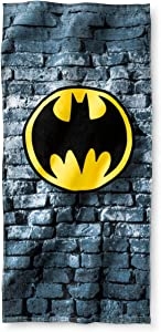 DC Comics Batman Logo Beach Towel