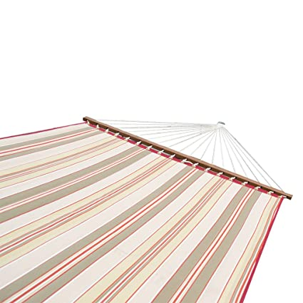 Slack Jack Quilted Fabric Hammock (Multicolor)