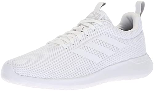 adidas Men s Lite Racer CLN Running Shoe White Grey, ... b83e813d01