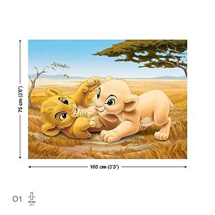 Le Roi Lion Simba Nala Images De Toile Ppd2205 Cvfw O1