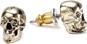 Amazon.com: House of Harlow 1960 Skull Stud Earrings: Jewelry