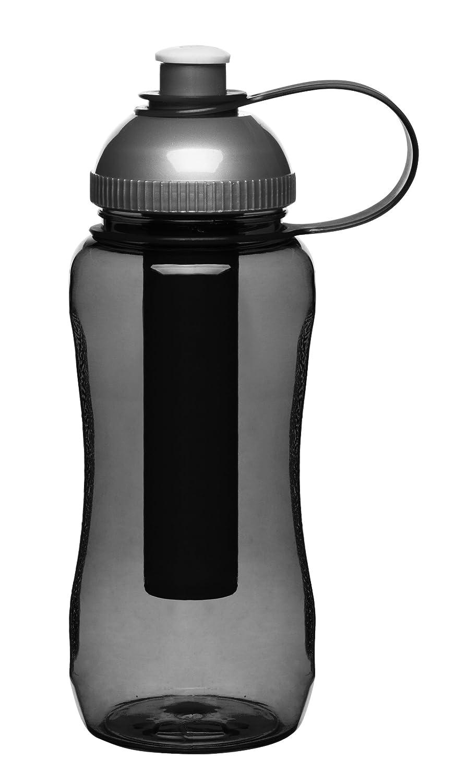 Picnic Trinkflasche mit Kühleinsatz, grau