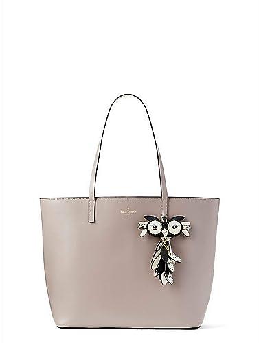 e988cf35d Amazon.com: Kate Spade Star Bright Owl Little Len Large Leather Tote  Women's Handbag: Shoes