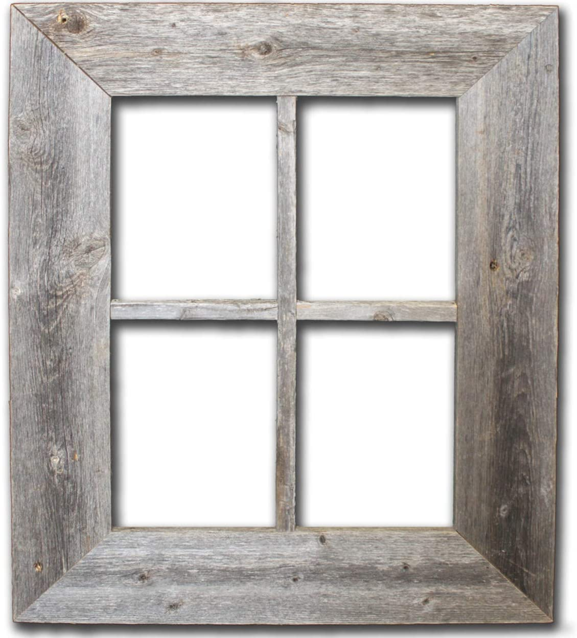 Amazon Com Old Rustic Window Barnwood Frames Not For Pictures By Rustic Decor Home Kitchen