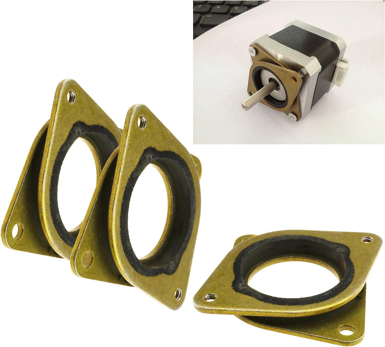 Amortiguador de vibración para motor paso a paso (3 unidades) para impresora 3D Nema17