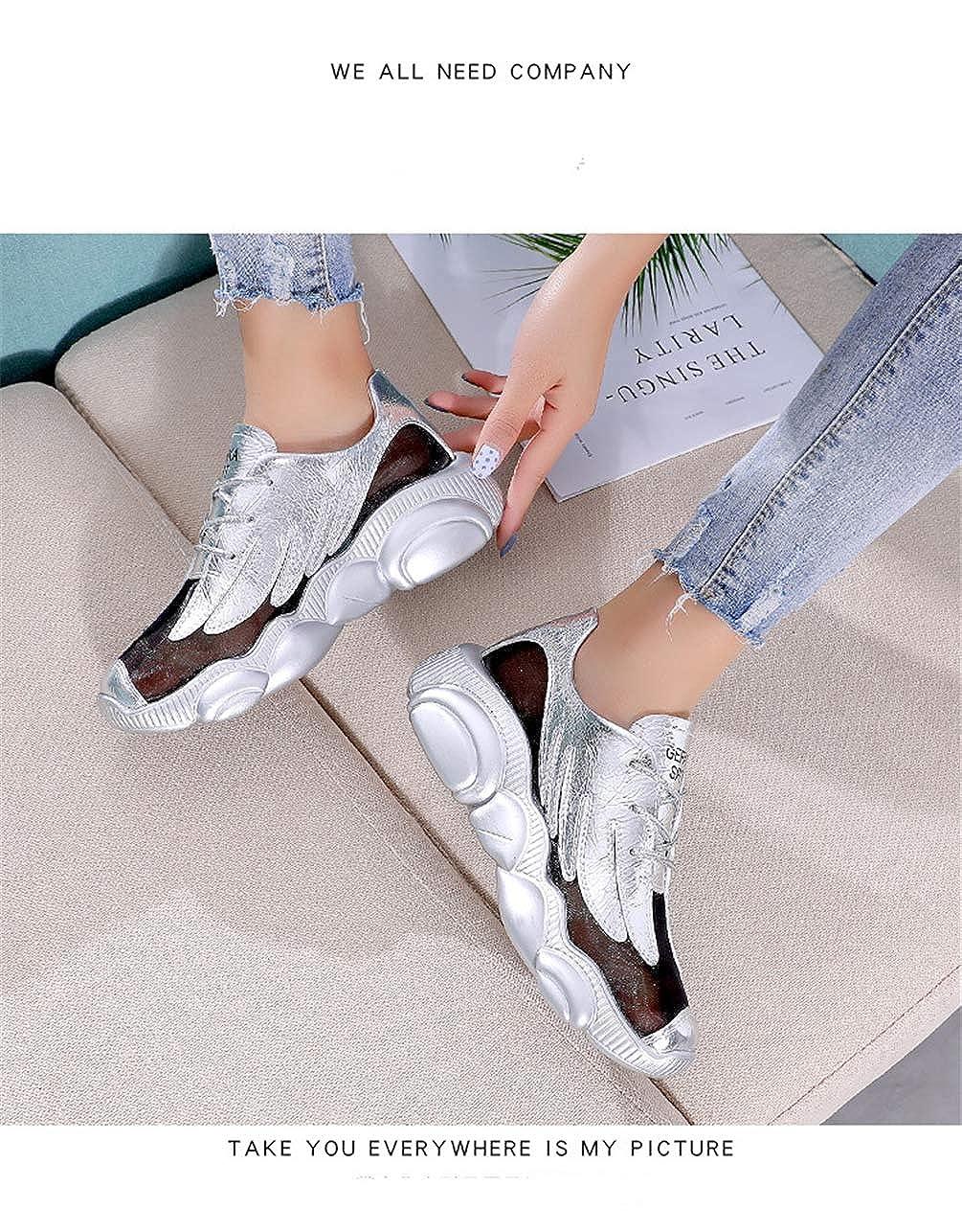 ALLAK Women Sneakers Fashion Lightweight Breathable Ladies Walking Shoes