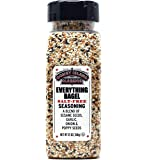 Everything Bagel SALT FREE Seasoning Premium Spice Blend With Sesame Seeds Onion Garlic And Poppy Seed Bulk Shaker Gluten Free Keto And Paleo 12 Oz