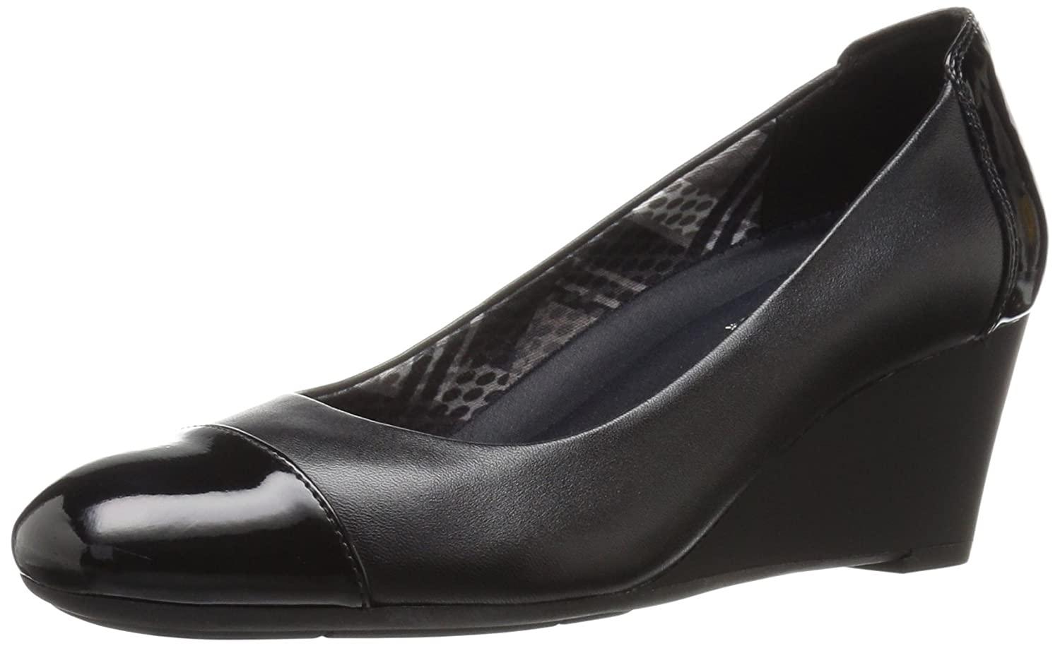 Naturalizer Women's Necile Wedge Pump B019XHTMOU 10 B(M) US|Black