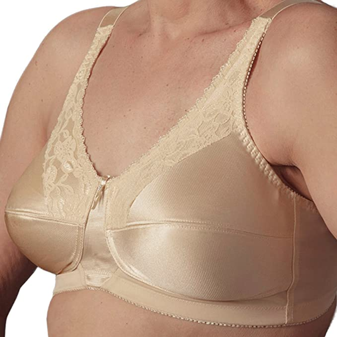 5ca6bda8667f9 Nearly Me Lace Bandeau Mastectomy Bra Style 600  Amazon.ca  Clothing    Accessories