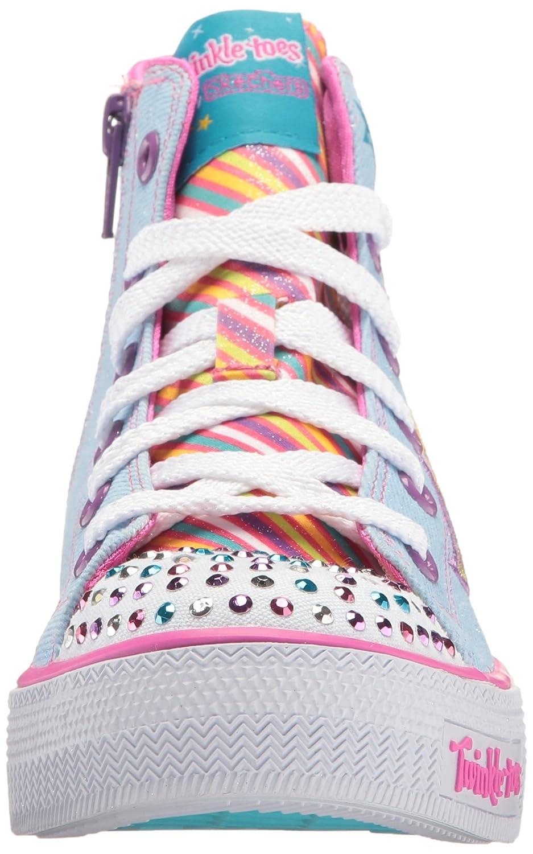 Skechers Orteils Scintillement Shuffles Chaussures De Sport Light-up Des Filles De Torsion OScYGD