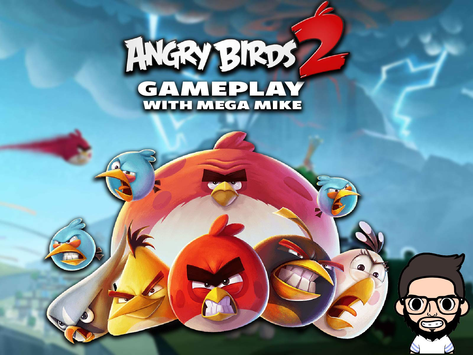 Amazon com: Watch Angry Birds 2 Gameplay With Mega Mike