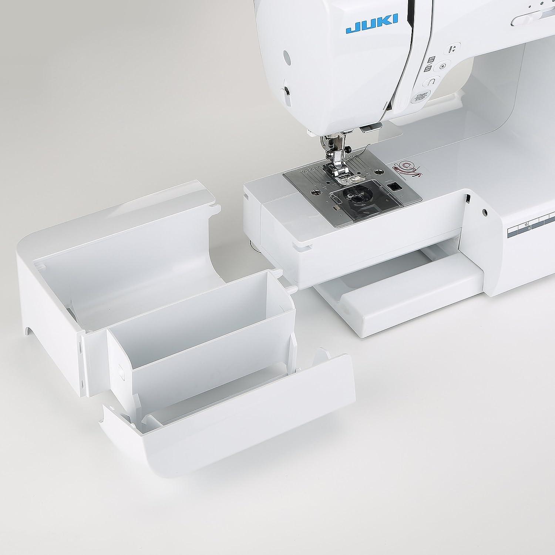 JUKI hzl-60hr-b máquina de Coser electrónica, Metal, Blanco, 40 x 18,8 x 29 cm: Amazon.es: Hogar