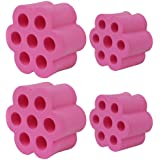 "Cup Turner Foam for 1/2"" PVC Pipe Fit 30 oz Tumbler 20 oz Tumbler Lowball Eggshell(Pink)"