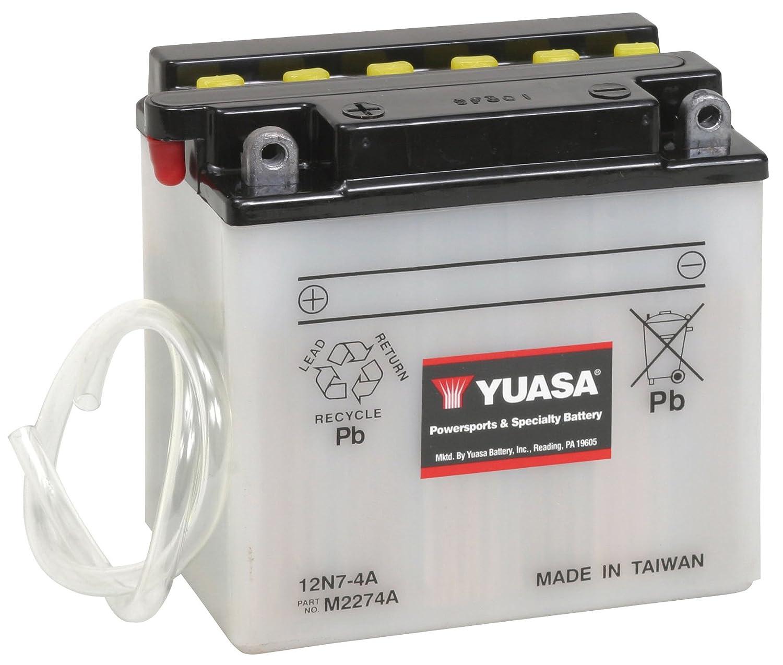 Yuasa YUAM2274A 12N7-4A Battery