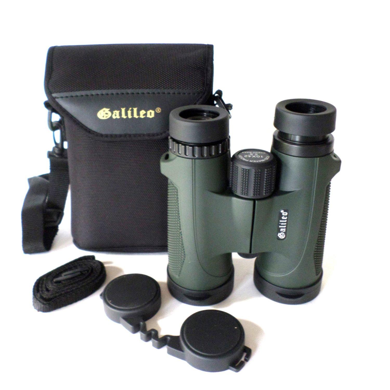 Galileo 10 x 42 mm水/霧プルーフ双眼 B076V6FFK9
