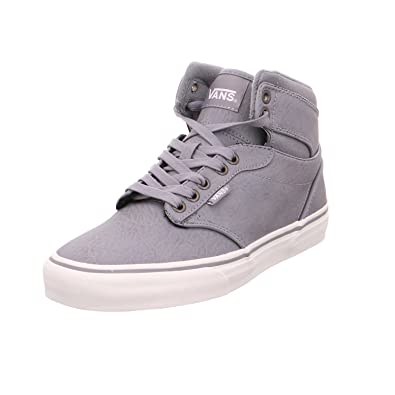 6a3f8d8025c6cd Vans Men s Atwood Hi (Leather) Frost Grey Marshmallow Sneakers - 6 UK India  (39 EU)  Buy Online at Low Prices in India - Amazon.in