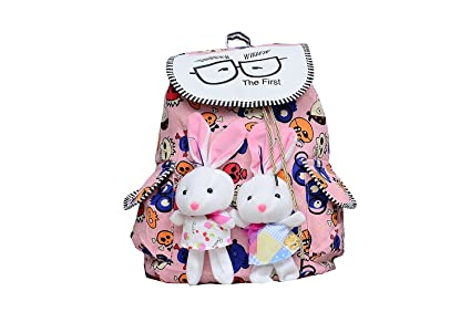 8685e0974a0e Image Unavailable. Image not available for. Colour  TrendyAge Girl s Canvas  Multicolour Backpack