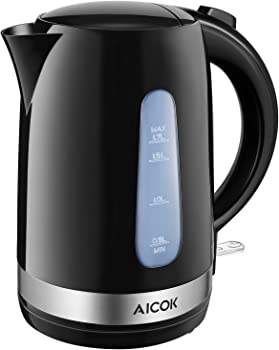 Aicok 1.7L 1500W Electric Kettle