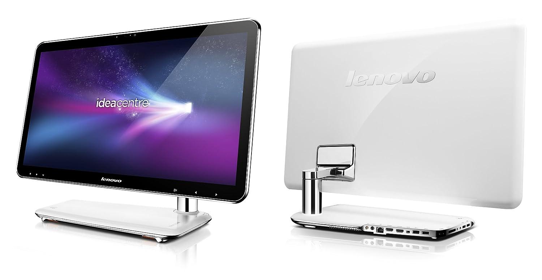 Lenovo IdeaCentre A320 21 5 inch All-in-One Desktop PC (Intel Core i3-2310M  2 1GHz, RAM 4GB, HDD 750GB, External DVDR, LAN, WLAN, Webcam, BT, TV