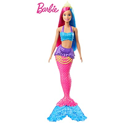 Barbie Dreamtopia Mermaid Doll, 12-inch, Pink and Blue Hair: Toys & Games