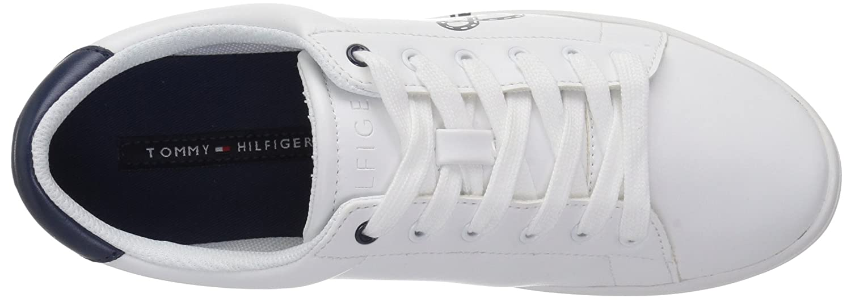 Tommy Hilfiger Women's Steffi Sneaker B075QVV2S2 6.5 B(M) US|White