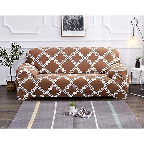 Felpa elástica Fundas de sofá de Forma L Chaise Longue para ...