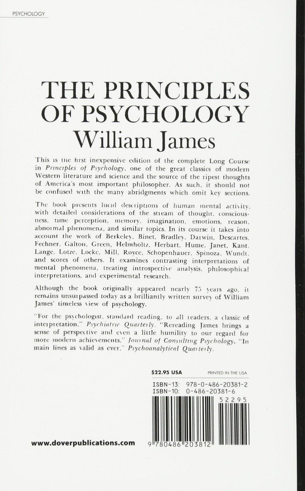 1: William James: 0800759203819: Amazon.com: Books