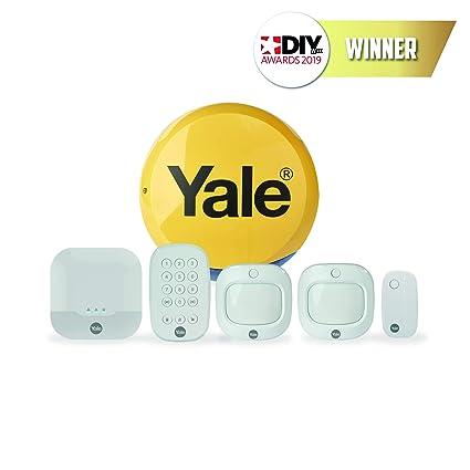 yale ia-320 sync smart home alarm - family kit, works with alexa and  philips hue: amazon co uk: diy & tools