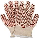 Ansell Winter Monkey Grip Jersey Glove Vinyl Coating