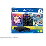 Console PlayStation 4 1TB Bundle 11 - Just Dance 2020, Medievil, Knowledge is Power +Frantics + That's You…