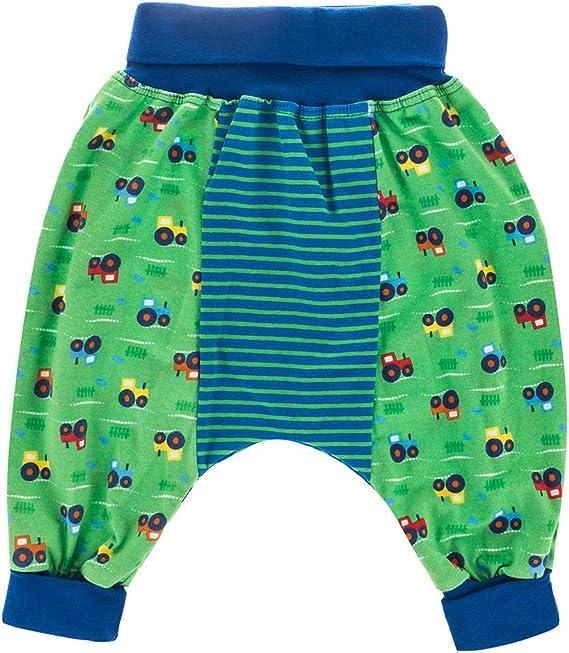 Kinderhose Babyhose Pumphose Sternchen Jungen Jerseyhose blau dunkelgrau mit Sternen von Tom /& Lottchen hellblau oder gr/ün