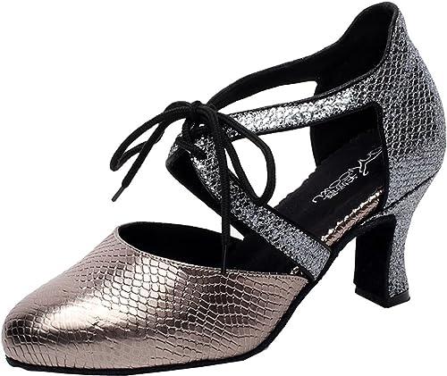 Professionnelles de pour CFP Chaussures Danse à Femme Lacets 6bfg7vYy