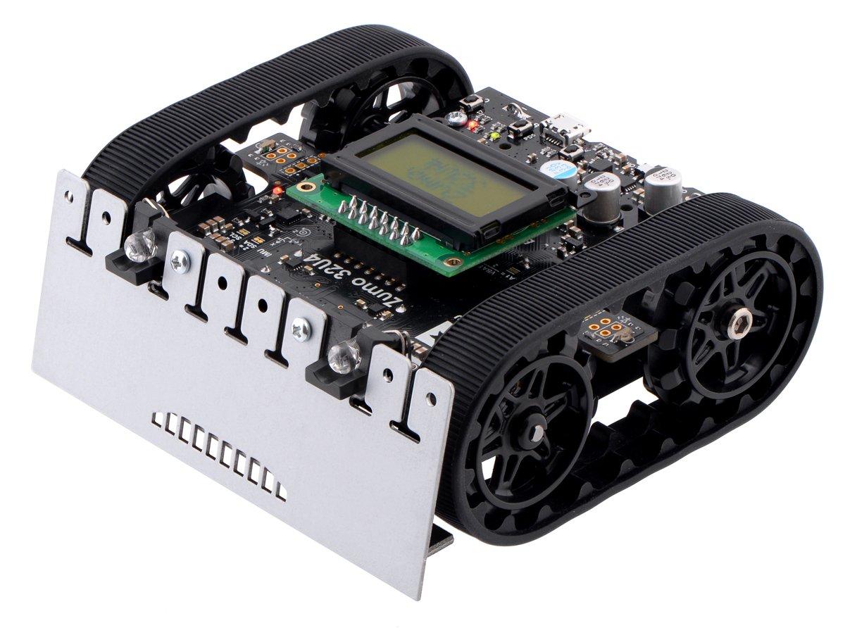 Pololu Zumo 32U4 Robot (Assembled with 100:1 HP Motors) (Item: 3127)