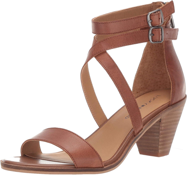 Lucky Brand Women's Ressia Heeled Sandal