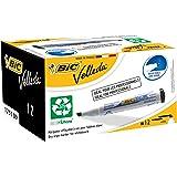 BIC Velleda 1751 ECOlutions Whiteboard Markers Black 12 Box