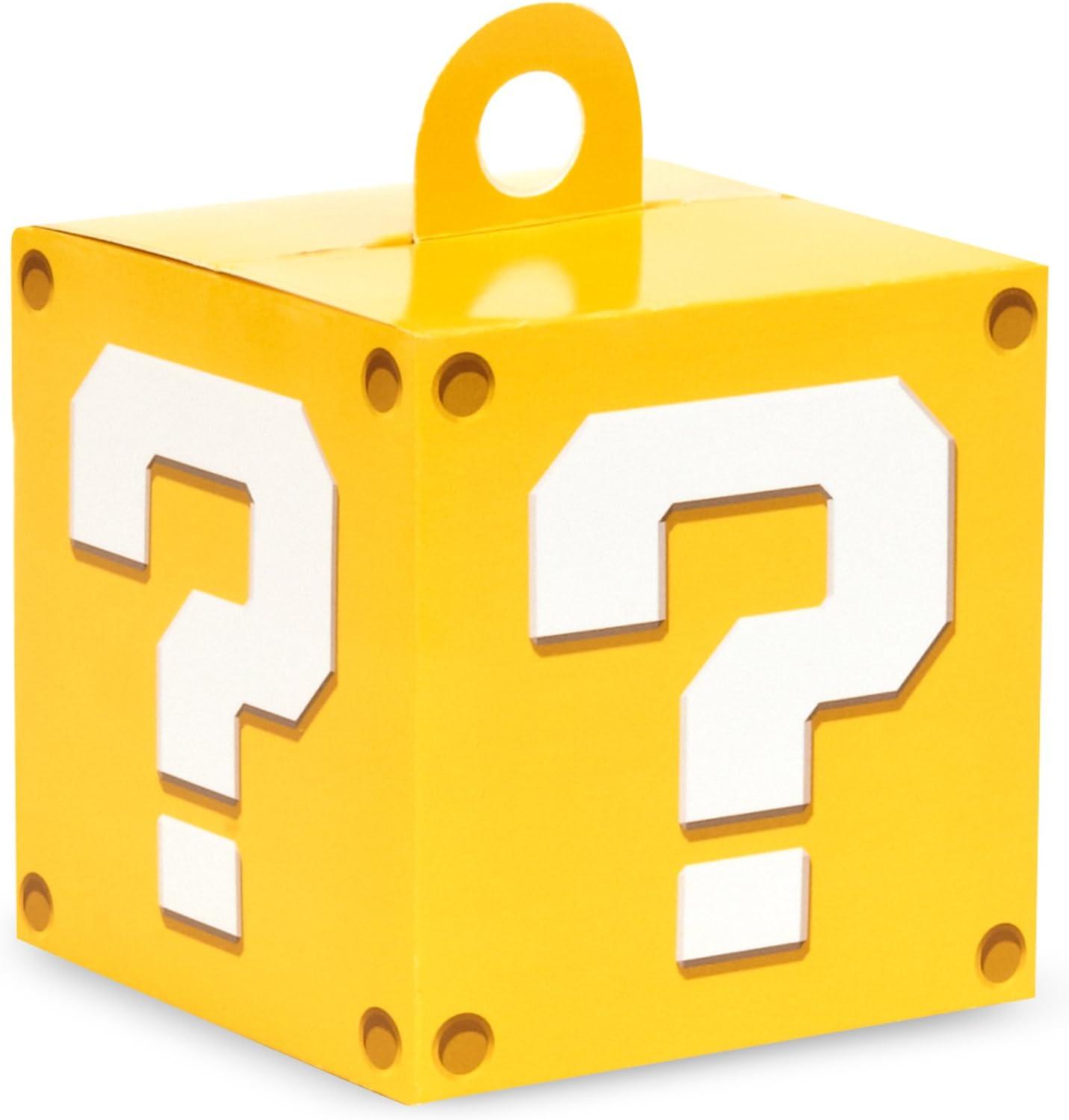BirthdayExpress Super Mario Party Supplies Empty Favor Boxes (4)
